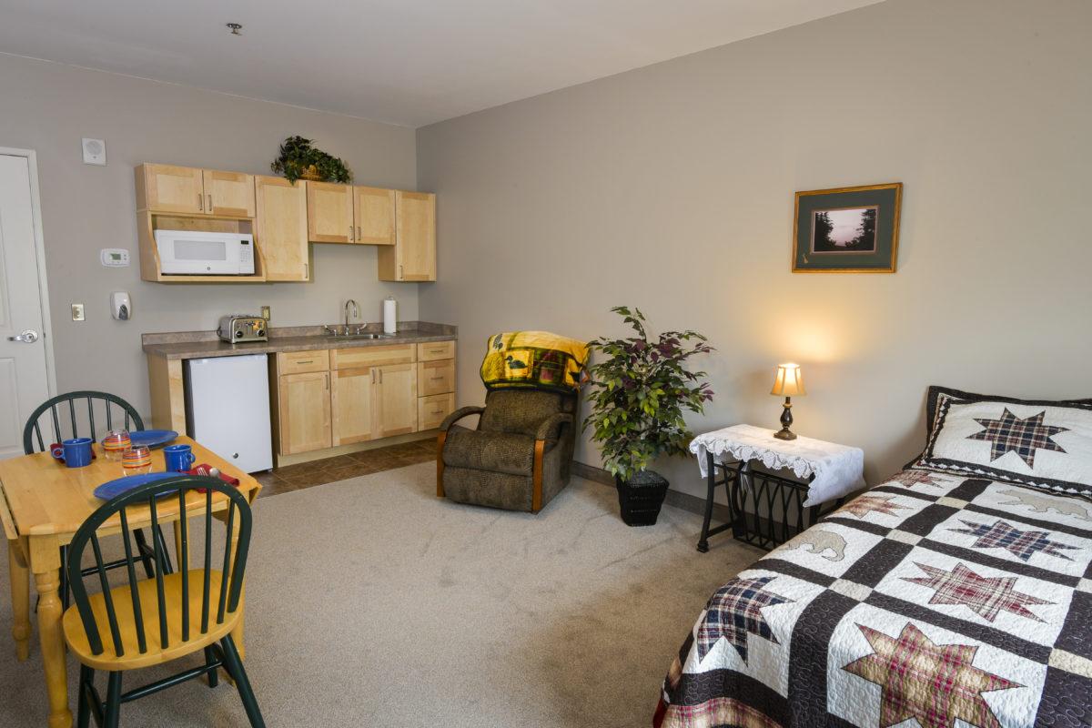 Cornerstone Villa Assisted Living Room